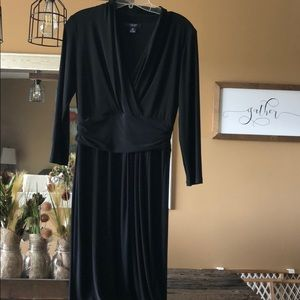 Chaps black dress size M